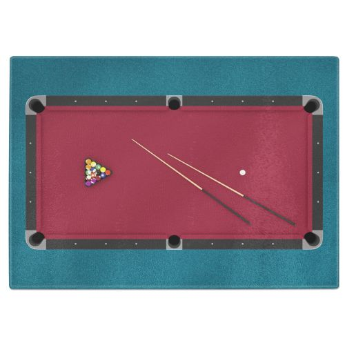 8 Ball Pool Table Billiards Tempered Glass Chopping Board